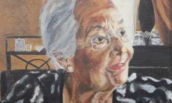 Werk Brigitte de Groot - acryl op canvas