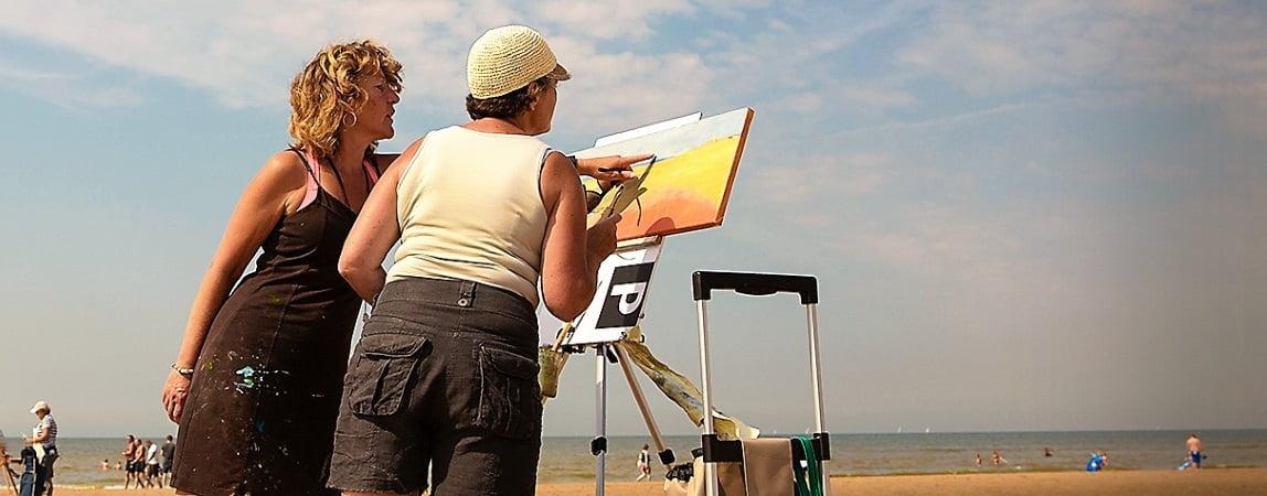 Zomerworkshops - schilderen aan zee