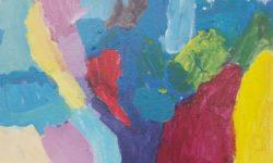 Werk Livia van der Plas - acryl op canvas
