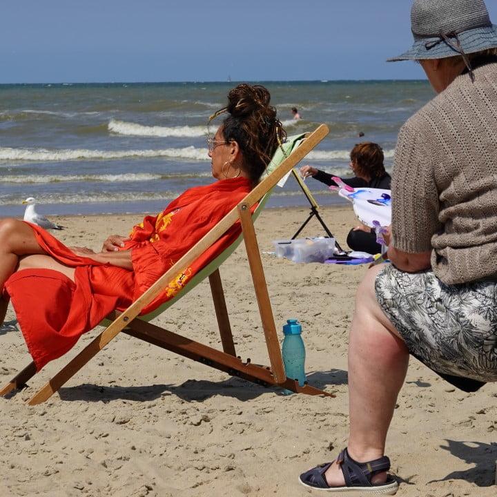 Filmpje - thema model - Masterclass Schilderen aan Zee