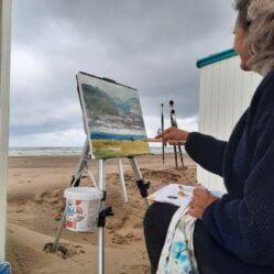 Carla Teutscher | Schilderen aan zee ééndaagse